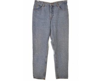 Calvin Klein Womens Jeans W32 L32 Blue Cotton Boyfriend