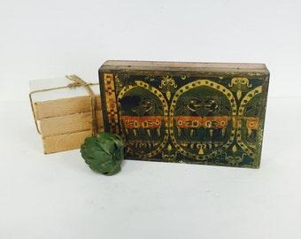 Vintage Italian Florentine Box / Ancient Egyptian Sphinx Gilt Box / Mid Century /Foo Dogs & Egyptian jewelry box | Etsy Aboutintivar.Com