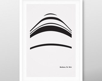 bauhaus balcony 1 | poster | Limited Edition | SALE | FREE SHIPPING!