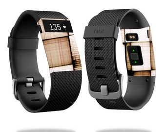 Skin Decal Wrap for Fitbit Blaze, Charge, Charge HR, Surge Watch cover sticker Vintage Blocks