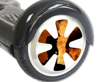 Skin Decal Wrap for Hoverboard Balance Board Scooter Wheels Fire Fighter