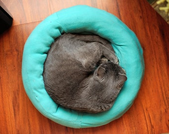 Simon 30, original fine art photography, print, cat, kitten, nature, 8x12,  animal, pet, home, green, hungary, cute, sleep, blue, circle