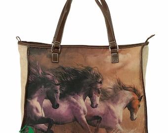 I Love Horses Tote Bag (Trio)