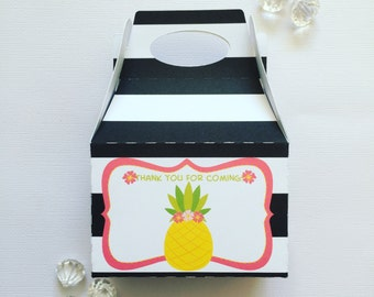 Tropical treat boxes
