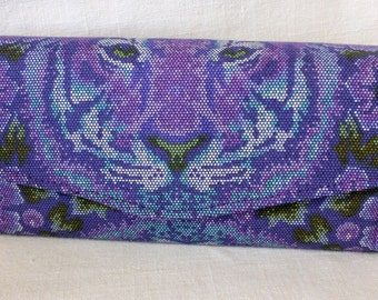 Tiger Clutch Wallet