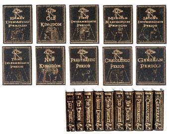 DOLLHOUSE MINIATURE 1:12 Scale NOVEL Books Set #NI105-NI110-NI120-NI121-NI122