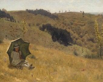 Lawrence Alma-Tadema: Sunny Days. Fine Art Print/Poster. (003786)