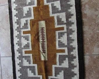 "Navajo Style 22 3/4"" x 50"" Rug"