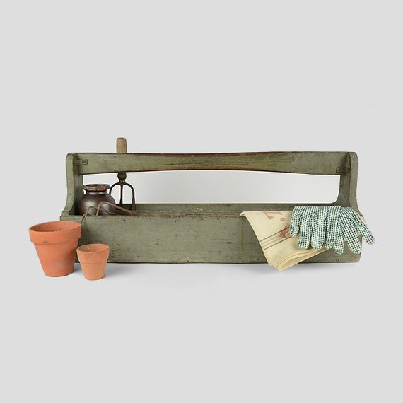 Tool carrier garden tote supply organizer industrial for Industrial garden tools