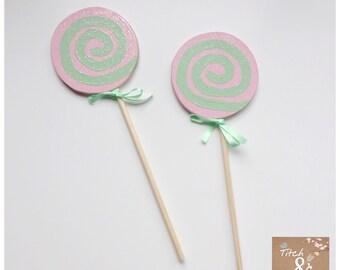 Lollipop fairy wand, children's wand, fancy dress, wand, photo prop