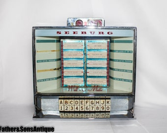 Antique Seeburg Wall-O-Matic Jukebox!