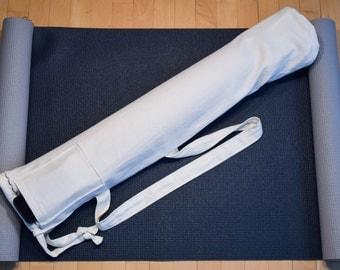 Hemp yoga mat carrier, Yoga Bag, Yoga mat, Yoga, Pilates Mat Bag, Yoga Accessories, Tote, Fitness Bag, Exercise Mat Bag, Yoga Tote, Hemp