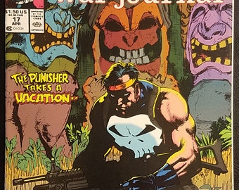 The Punisher War Journal #17 (1990) Comic Book