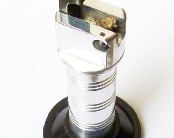 Vintage 'Benlow Golmet' Aluminium Lift-Arm Petrol Table Lighter