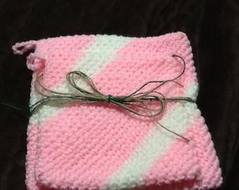 Crochet hot pad holder