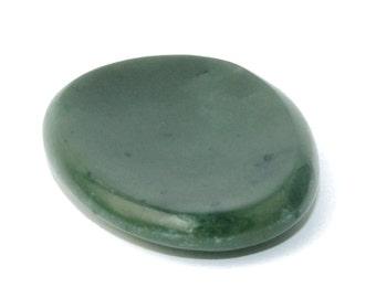 Canadian Nephrite Jade Worry Stone, 2498