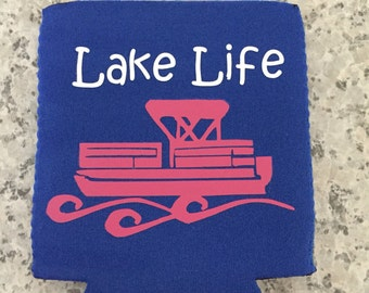 Lake life can cooler| lake Life boat can cooler|