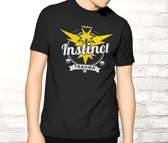 Team Instinct Tee - Pokemon Trainer T-shirt - Team Instinct T-shirt