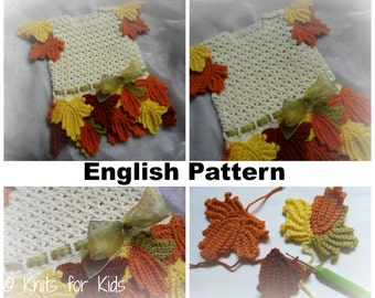 Crochet Patterns In English : English Crochet Pattern Baby Pants / Jumpsuit by ...