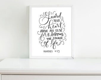 Guard Your Heart - Print