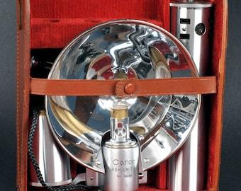 Canon Flash Unit B-II Mint In Original Case Rare Rangefinder Camera Flash Bulb MiNTY !
