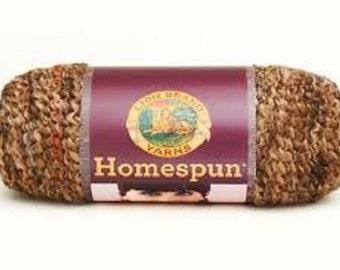 Lion Brand Yarn Homespun Yarn, Barley