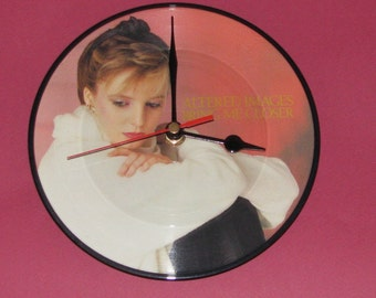 "Altered Images bring me closer 7"" picture disc record clock"