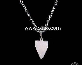 Pyramid 3D Healing Pendant Necklace