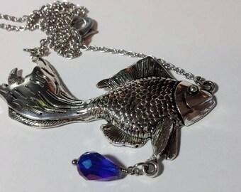 Large Goldfish Necklace