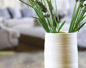 sprig of lavender vase