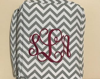 Monogrammed Bible Covers, Personalized book cover