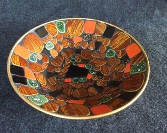 Gorgeous vintage mosaic bowl
