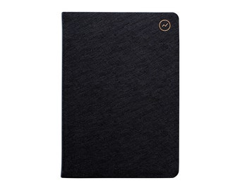 Notes Book - A5 Soft Cover Black - Create your future
