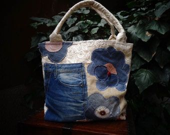 patch bag flower