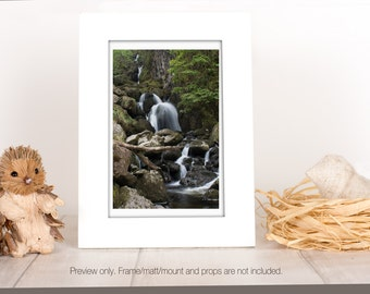 Waterfall Photography Print Landscape Photography Print  Nature Wall Art  Matire Home Decor Waterfall Wall Art Landscape Photo Print UK