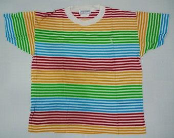 Vintage YSL Stripe T shirt