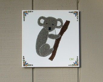 Koala #2 Fabric Wall Art