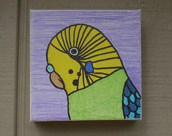 Bird Pet Portrait #1 Drawn Art