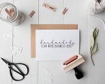 Custom Handmade By Stamp, Personalized handmade stamp, Custom Stamps, Personalized stamps, Handmade stamp