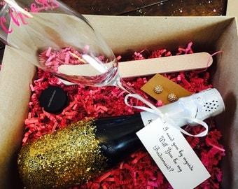 """Bridesmaid Proposal Box """"Will You Be My Bridesmaid?"""""""