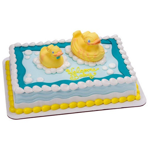 Cake Decorating Kits For Baby Shower : Rubber Ducky Cake Decorating Kit Duck Party Supplies ...