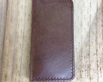 Kangaroo Leather iPhone Wallet, Suits iPhone SE, 5S, 5 and iPod Touch, iPhone Case,  Leather iPhone Holder