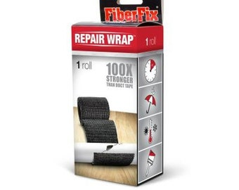 FIBERFIX Repair Wrap 2 in X 50 in Hardens like Steel 100 x Stronger than Duck Tape tool handles leaking plumbing pipes leaking car hose 8A3E