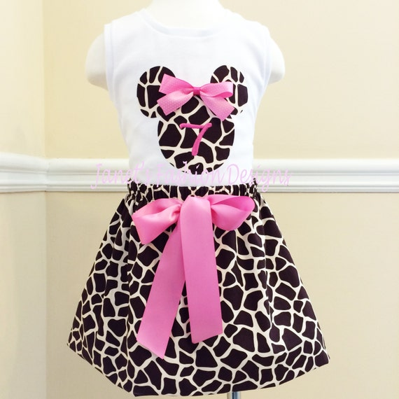 how to make a minnie mouse skirt