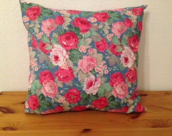 Pillow Cover and Insert Floral