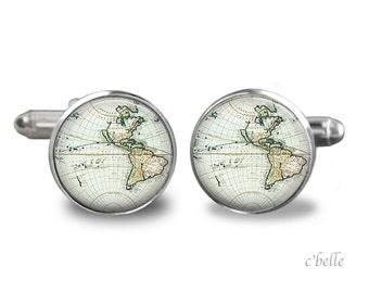 Cufflinks world travelers