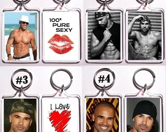 Shemar Moore Keychain Key Ring - 16 Designs To Choose From See Photos Shirtless