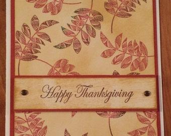 Fall cards - Thanksgiving - Happy Birthday