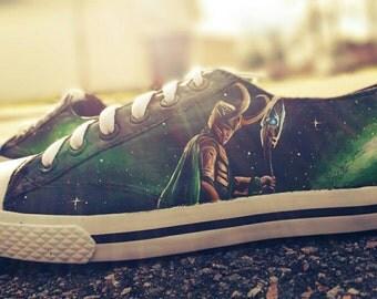 Loki Inspired Shoes