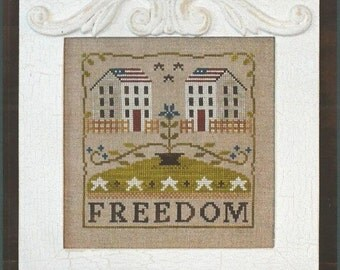 """LITTLE HOUSE NEEDLEWORKS """"Freedom House"""" 